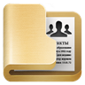 96x96px size png icon of folder contacts