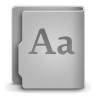 96x96px size png icon of Font