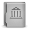 96x96px size png icon of Library alt
