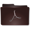 96x96px size png icon of Folders Acrobat b