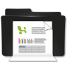 96x96px size png icon of Folders Documentos Excel