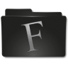 96x96px size png icon of Folders Fuentes
