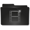 96x96px size png icon of Folders Videos