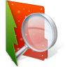 96x96px size png icon of Folder Searches