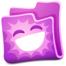96x96px size png icon of pink folder