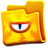 96x96px size png icon of yellow folder
