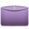 96x96px size png icon of Folder Color Lilac Purple
