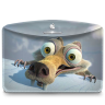 96x96px size png icon of Folder Ice Age