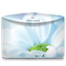 96x96px size png icon of Folder Nature Flower