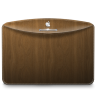 96x96px size png icon of Folder Pattern Wood