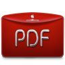 96x96px size png icon of Folder Text PDF
