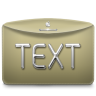 96x96px size png icon of Folder Text
