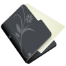 96x96px size png icon of folder flower black