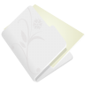 96x96px size png icon of folder flower light grey