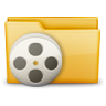 96x96px size png icon of Folder Movie