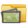 96x96px size png icon of Folder Photo