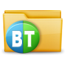 96x96px size png icon of Folder Torrent