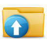 96x96px size png icon of Folder Upload