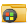 96x96px size png icon of Folder Windows