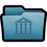 96x96px size png icon of Folder Library