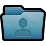 96x96px size png icon of Folder User