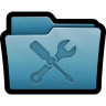 96x96px size png icon of Folder Utilities