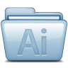 96x96px size png icon of Blue Adobe Illustrator