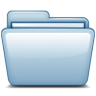 96x96px size png icon of Blue Blank