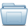 96x96px size png icon of Blue Desktop