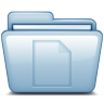 96x96px size png icon of Blue Documents