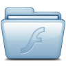 96x96px size png icon of Blue Flash