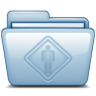 96x96px size png icon of Blue Public