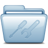 96x96px size png icon of Blue Utilities