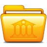 96x96px size png icon of Library
