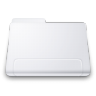 96x96px size png icon of Generic WHITE