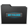 96x96px size png icon of myfolder