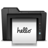 96x96px size png icon of print 2