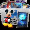 96x96px size png icon of Folder TV Disney