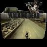 96x96px size png icon of Folder TV WALKING dead