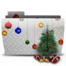 96x96px size png icon of Folder Xmas Tree