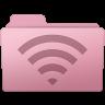 96x96px size png icon of AirPort Folder Sakura