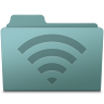 96x96px size png icon of AirPort Folder Willow