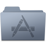 96x96px size png icon of Applications Folder Graphite