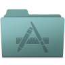 96x96px size png icon of Applications Folder Willow
