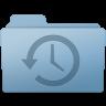 96x96px size png icon of Backup Folder Blue