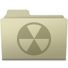 96x96px size png icon of Burnable Folder Ash