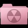 96x96px size png icon of Burnable Folder Sakura