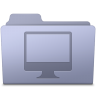 96x96px size png icon of Computer Folder Lavender
