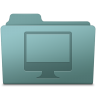 96x96px size png icon of Computer Folder Willow