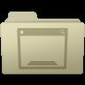 96x96px size png icon of Desktop Folder Ash